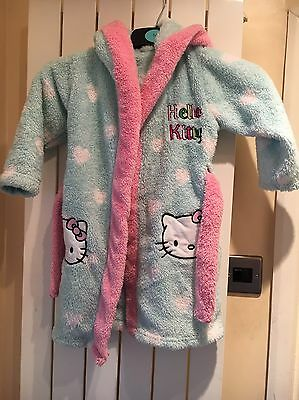 Girls Hello Kitty Dressing Gown 18-24months