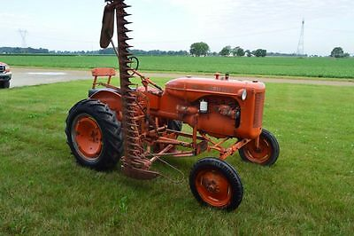 Allis Chalmers B Tractor w/ Factory Sickle Mower