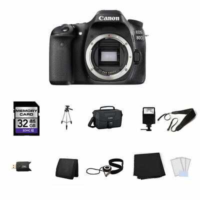 Canon EOS 80D DSLR Camera (Body Only) 32GB Full Kit