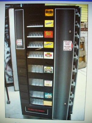 ANTARES SODA SNACK COMBO VENDING MACHINE  with new locks and coin changer