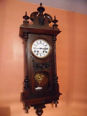 victorian Lenzkirch german wall clock