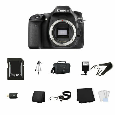 Canon EOS 80D DSLR Camera (Body Only) 64GB Full Kit