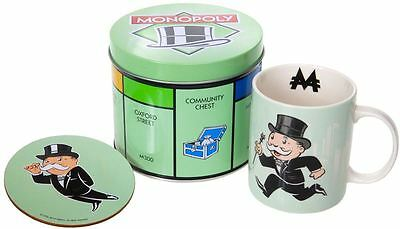 Monopoly - Monopoly Man Mug and Coaster in Gift Can