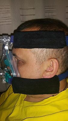 CPAP/BIPAP mask strap covers - prevents facial marking, various colours availabl