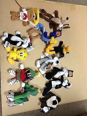 """6"""" Loonie Tunes stuffed character set of 12"""