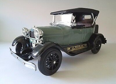 Vintage JIM BEAM Decanter 1929 Model A Ford Phaeton ~ Excellent Condition