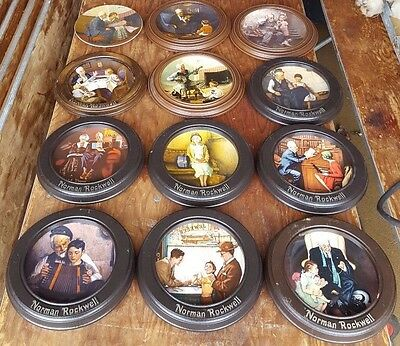 Lot 10 Vintage Norman Rockwell Plate Heritage Collection American Dreams Knowles