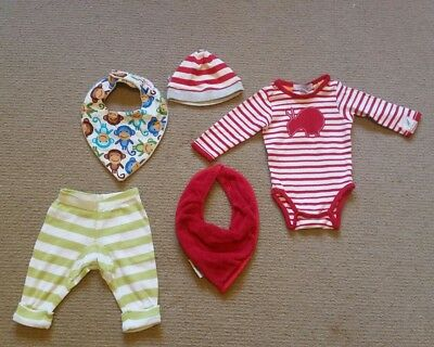 Baby Clothing Bundle & Bibs * 0-3 months *as new * Bebe * Silly Billyz etc * NB