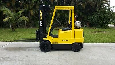 """Hyster Forklift 5000 Lbs Quad Mast 240"""" Lift Height Lps"""