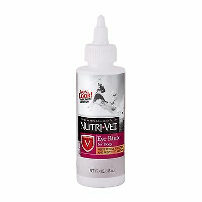 Nutri-Vet Eye Rinse Non-irritating Ophthalmic Liquid Solution for Dogs  4 ..