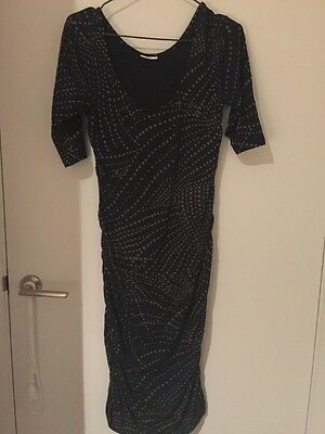 Soon Maternity Dress SiZe Small With 3/4 Sleeves