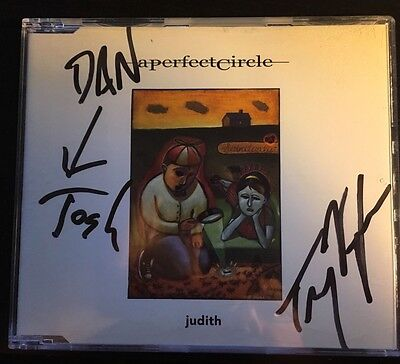 A Perfect Circle Autograph Judith Nine Inch Nail, Queens Of The Stone Age, Tool