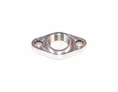 Torque Solution Billet Turbo Oil Drain Flange: Universal T6 & Borg Warner S400