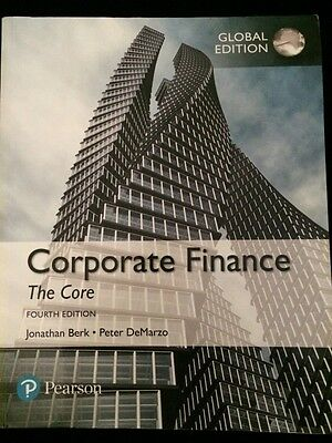 Corporate Finance The Core Global Edition (4th Edition)