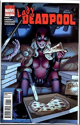 Woman Of Marvel LADY DEADPOOL #1 ONE SHOT RARE HARD TO FIND LAND COVER