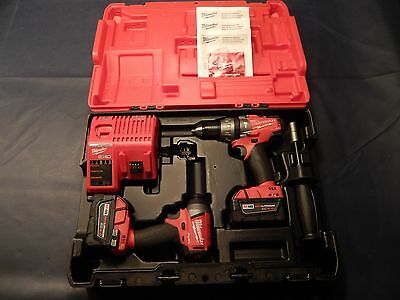 Milwaukee M18 FUEL 18Volt  Brushless Hammer Drill/Impact Driver Combo Free Ship