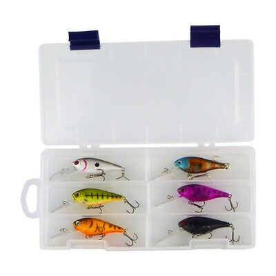 Finesse 'Madbass' Lures, 6 lure pack includes a 16 compartment tackle box