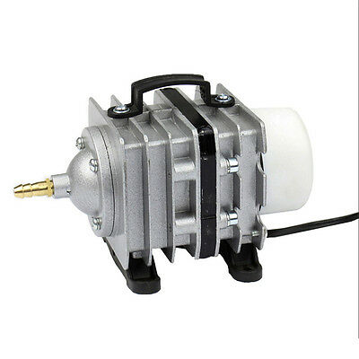Electromagnetic Air Compressor Air Pump Aquarium Fish Tank Hydroponic 55L/min