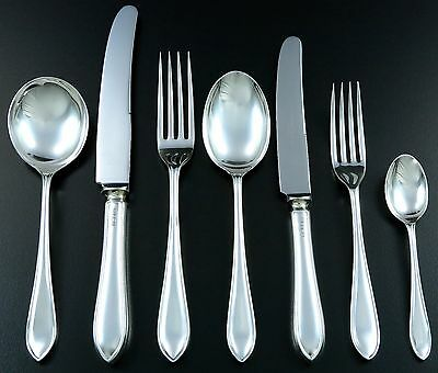 art deco besteck silber silberbesteck cutlery silver 12. Black Bedroom Furniture Sets. Home Design Ideas