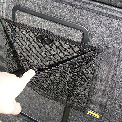 1x Car Boot Trunk Cargo Net Sticker Luggage Mesh Orgnizer Storage Bag