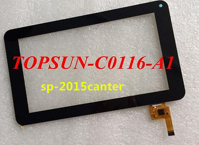Touch Screen Glass lens for Tablet PC TOPSUN_C0116_A1 free shipping  &#0417