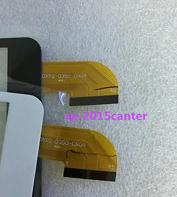 DXP2-0350-080A black or white Touch Screen Glass Digitizer free shipping  @#04