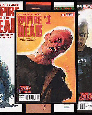 George A Romero Empire Of The Dead #1-5 Act 1 Set + Act 2 & Act 3 Lot 1St Prints