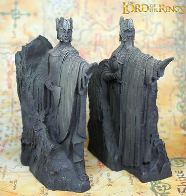 The Lord of the Rings Hobbit LOTR The Gates of Gondor Argonath Statue Bookends