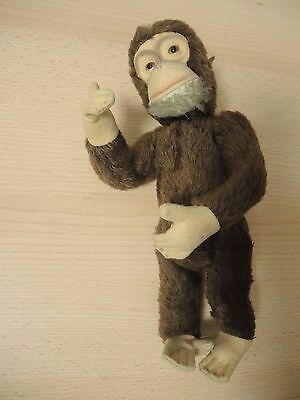 Schuco Affe Schimpanse Monkey Yes / No Funktion, 25cm