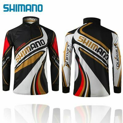 Shimano Fishing Shirt Outdoor Sportswear UV Breathable Quick-drying Clothes