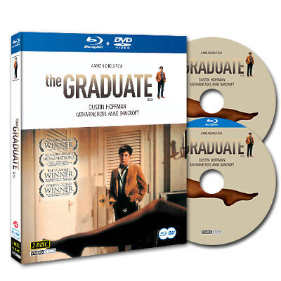 The Graduate (2013, Blu-ray + DVD) Double Pack Slip Case Edition