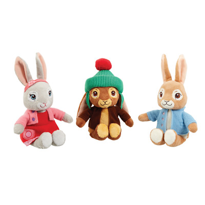 Peter Rabbit Soft Toy Plush 18cm - 3 to Choose from