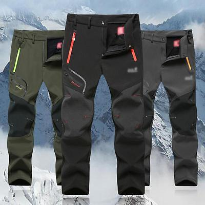 Outdoor Mens Quick Dry Camping Tactical Cargo Pants Combat Hiking Trousers Zip