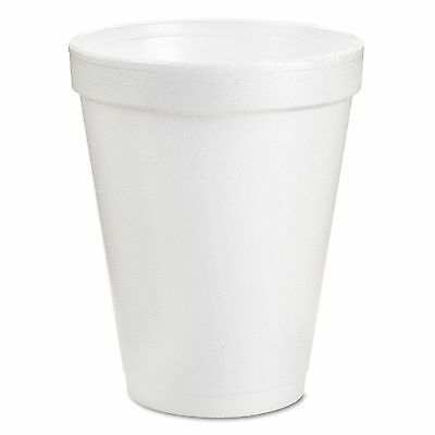 Dart Hot and Cold Foam Cups 8 oz. 1000 ct.