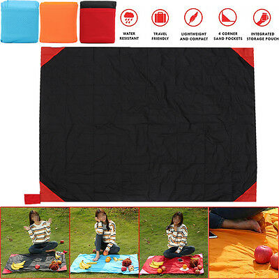 Extra Large Picnic Blanket Mat Rug Pad Camping Outdoor Beach Waterproof Foldable