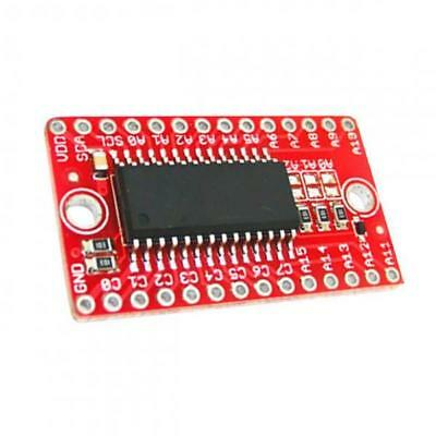 HT16K33 Breakout Module 16x8 LED Matrix Driver with I2C Control for Arduino