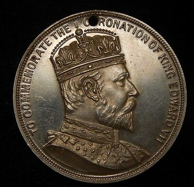 1902 South Africa Zulu chiefs silver coronation medal