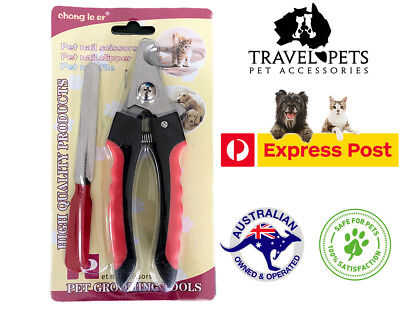 Nail Clippers Scissors Cat Dog Animal Pet Nail File Grooming Claw Care Maintain