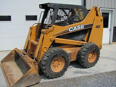 Case 465 Skid Steer Loader. 2 Speed. Good Rubber. New Engine. Nice Unit!
