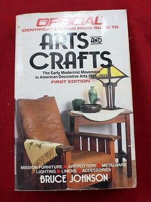 Official Identification Price Guide to Arts and Crafts 1st Edition Bruce Johnson
