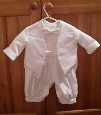 christening outfit boy size 3-6 months