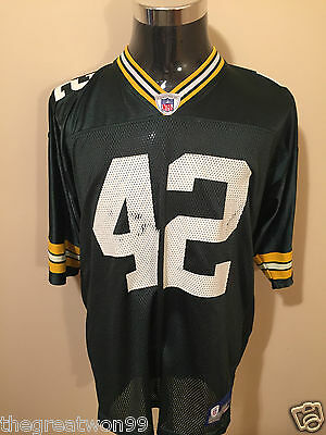 NFL Green Bay Packers #42 LGE 7009A Printed Gridiron Jersey by Reebok