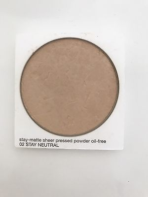 Poudre De Marque CLINIQUE Stay Matte Sheer Pressed Powder n02 Stay Neutral