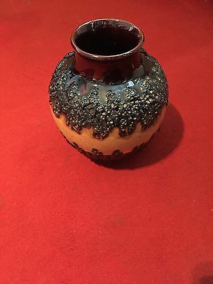 Mid Century 1970's Vase - West Germany (Bay Keramik)