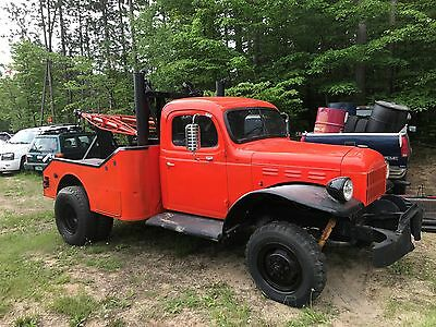 1951 Dodge Power Wagon  1951 dodge powerwagon wrecker