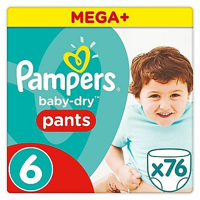 Pampers Baby-Dry Pants - Size 6 Pack of 76 *FAST DELIVERY*