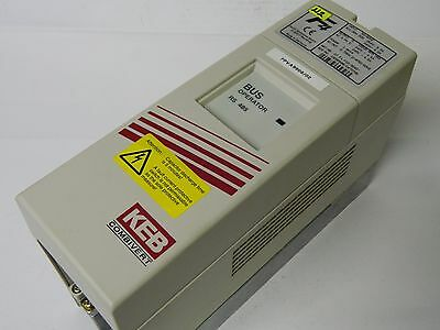 KEB 07.F4.F1D-3240 3 phase Inverter 0.75kw 4.5A + RS485 BUS operator 00.F4.010-