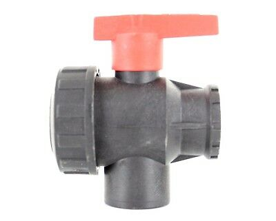 "Three 3 Port Mid Position Valve 3/4"" Female thread Plastic Powerflush Machine"