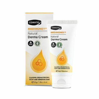 Comvita Medihoney Natural Derma Cream 50g 1 2 3 6 12 Packs