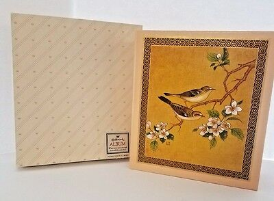 NEW Vintage Hallmark  Address Book in Original Box Birds & Flowers RA5302